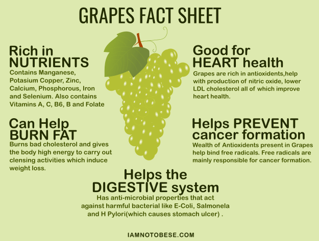 Grapes fact sheet